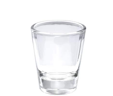 Heavy base shot glasses