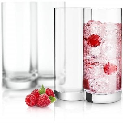 Highball glass type of cocktail glasses