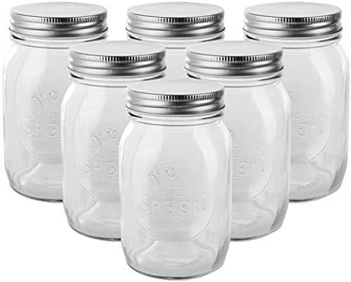 Jam Jar Cocktail Glasses