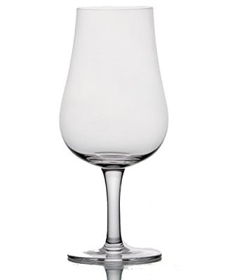 Nosing Whiskey glasses with stem