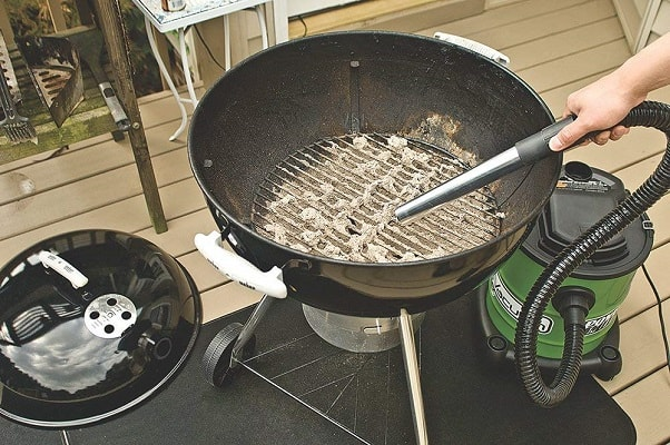 Power Smith ash vacuum for BBQ Grill