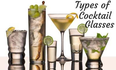 Types of Cocktail Glasses