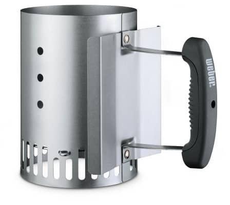 Weber 7447 Compact Charcoal Chimney Starter