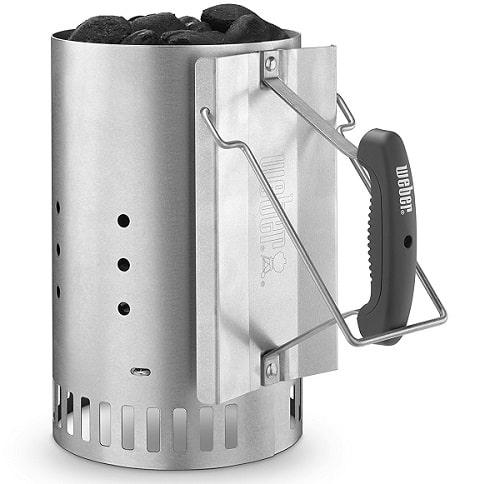 Weber chimney starter - smoker gift