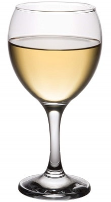 White Wine Glass Classic Crystal