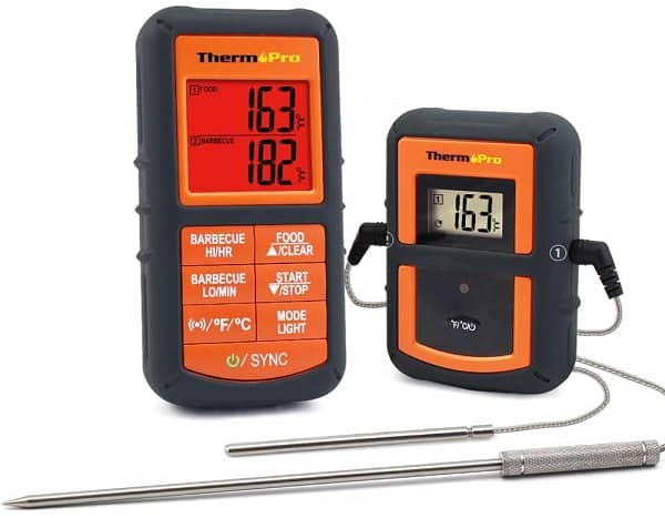 Grilling Smoker Food Thermometer