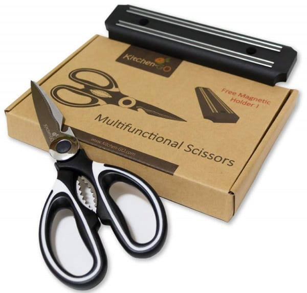 Multi-purpose kitchen shears