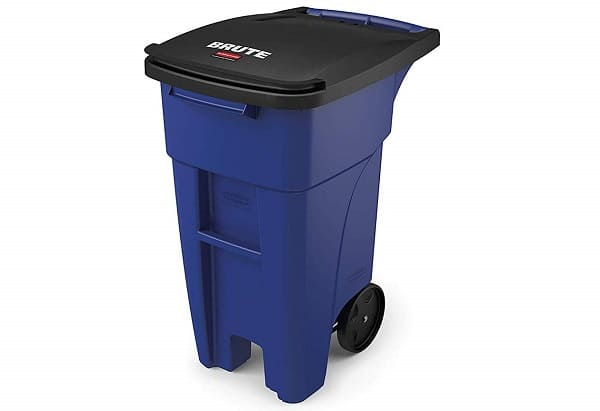 Charcoal Container Wheelie Bins