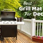 Best Grill Mat For Deck– Great for Composite and Wooden Decking