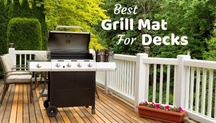 Best Grill Mat For Deck Great For Composite And Wooden Decking