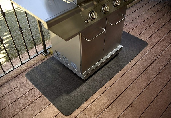 Best Grill Mat For Deck Great For Composite And Wooden