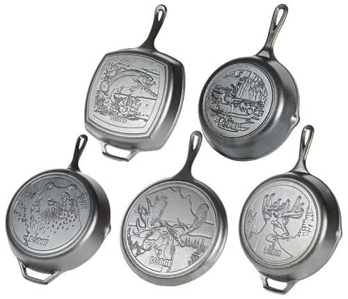 Lodge Wildlife Series Cast Iron Cookware