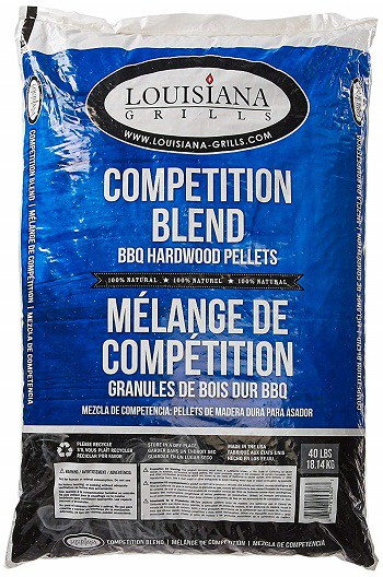 Louisiana Grills Competition Blend Pellets