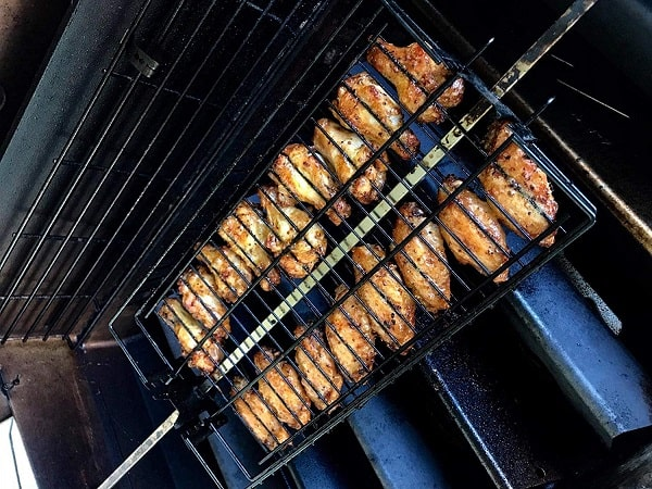 Grilshop Adjustable Rotisserie Basket