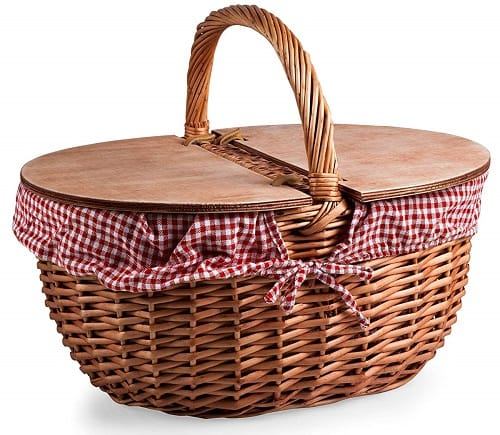Picnic Time Country Traditional Basket