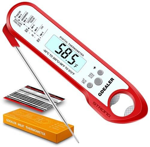 GDealer Waterproof Digital Thermometer