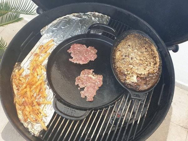 Fries Burger Setup