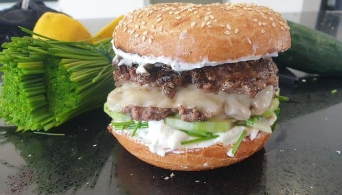 Bagel Burger Recipe