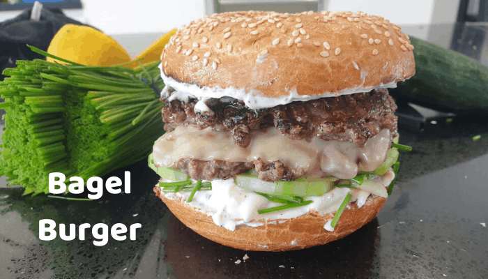 Bagel Burger Recipe
