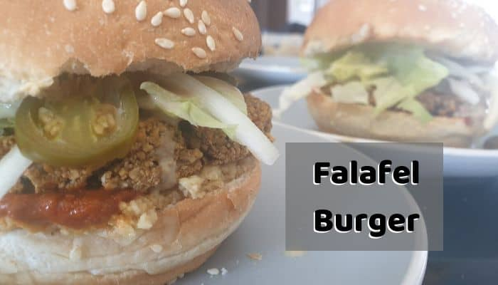 Falafel Burger Recipe