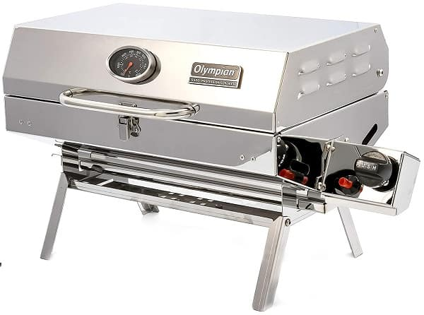 Camco Olympian Stainless Steel Best RV Grill