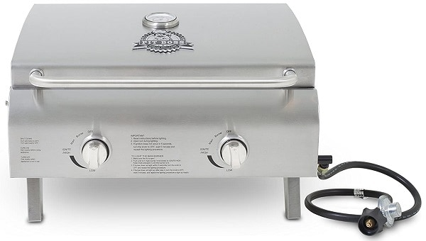 Pit Boss Two Burner Portable RV Grill