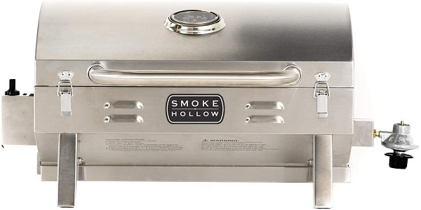 Smoke Hollow Stainless Steel Tabletop RV Grill