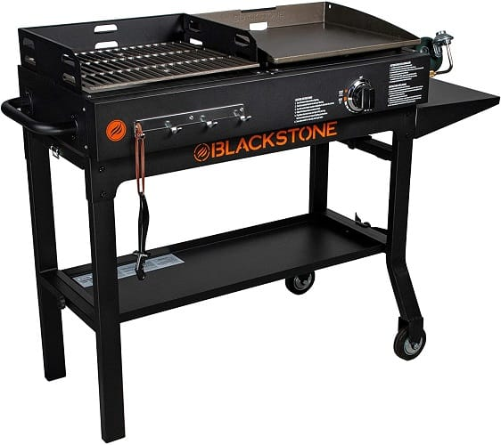 Blackstone Griddle Charcoal Grill Combo