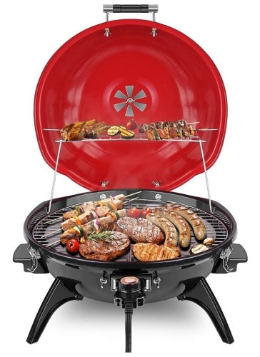 Techwood Portable Electric BBQ Grill