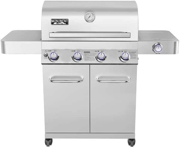 Monument Stainless Steel Gas Grill