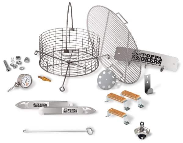 Big Poppas DIY Drum Smoker Kit