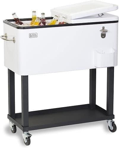 Black + Decker Mobile Cooler Cart