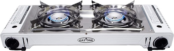 Gas One Dual Fuel Double Stove