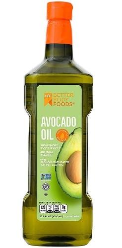 Better Body Refined Avocado Oil