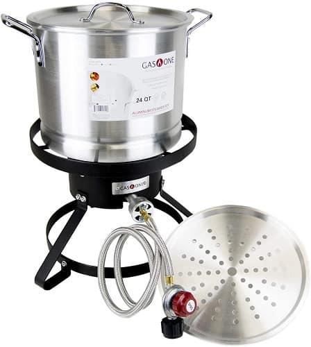 GasOne Propane Burner with Pot