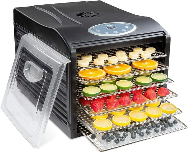 Ivation Stainless Steel Electric Food Dehydrator