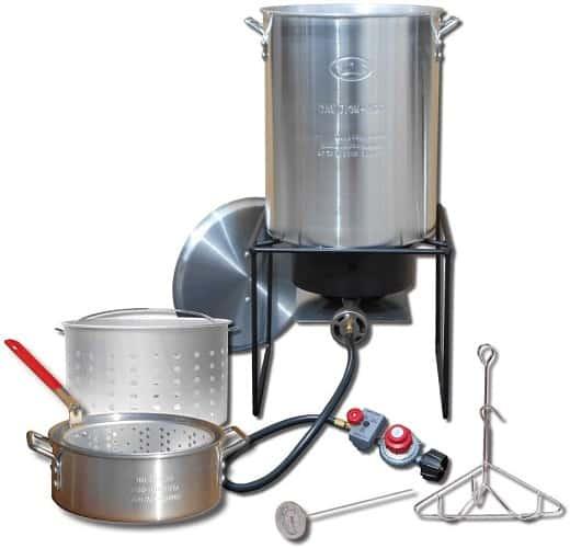 King Kooker Propane Outdoor Fry Boil Pots