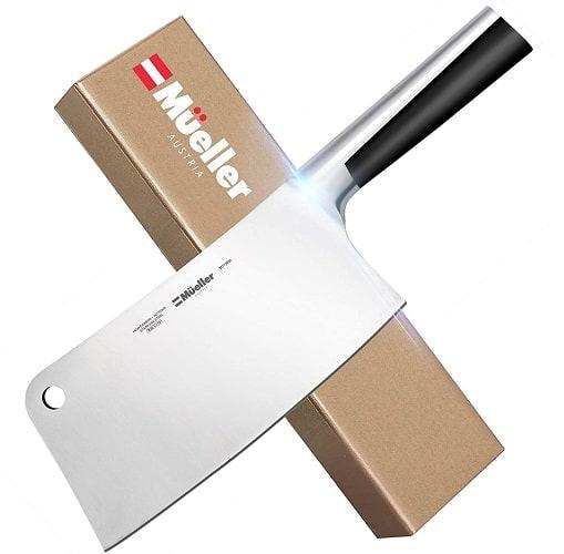 Mueller Stainless Steel Meat Cleaver