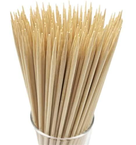 Natural Bamboo Appertiser Skewers for BBQ
