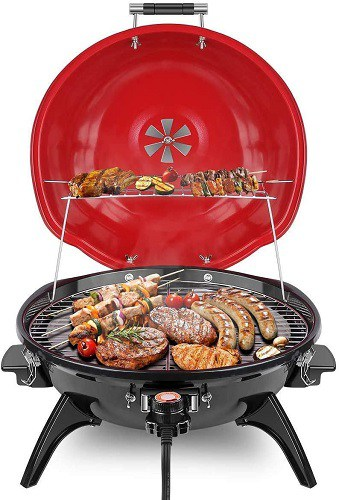 Techwood Electric BBQ Grill for Indoors