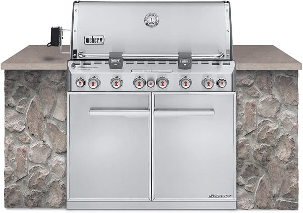 Weber Summit Built-in Stainless Steel Grill