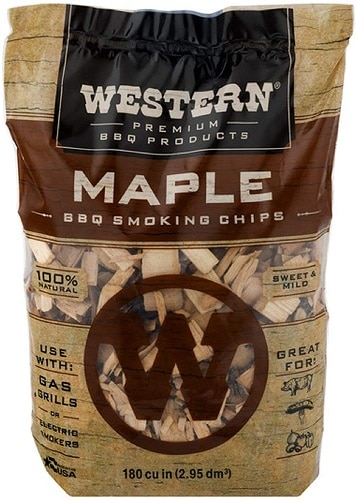 Maple Wood Chips for Smoking Ribs