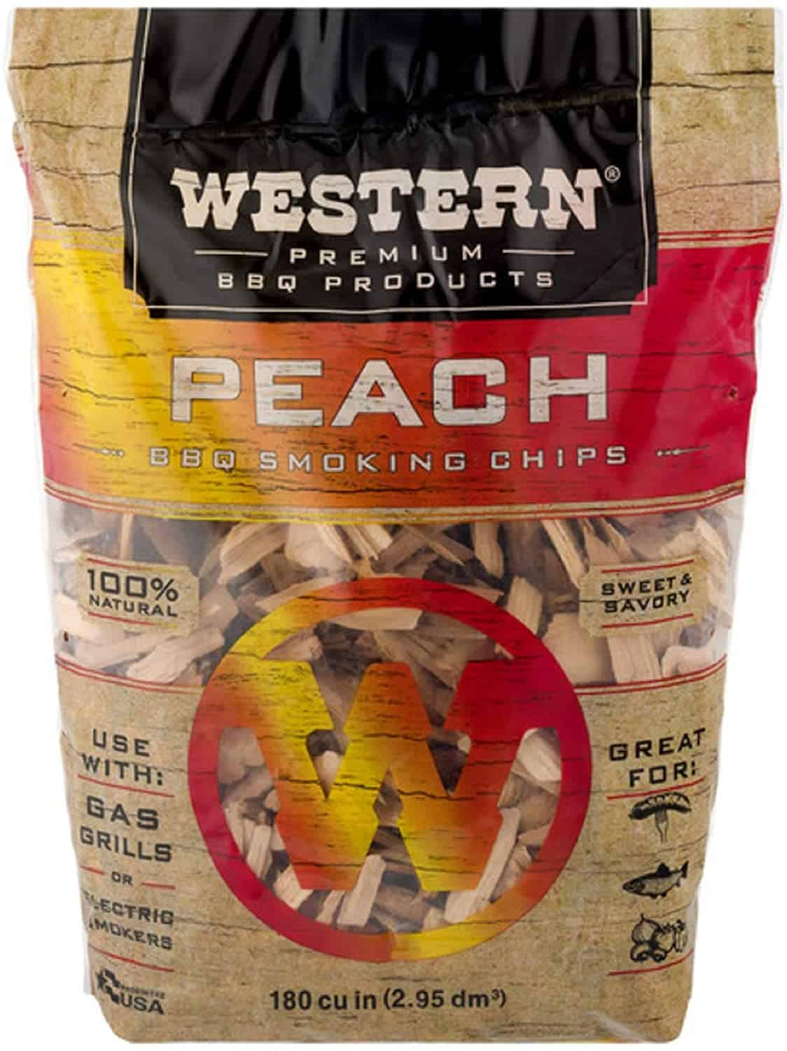 Peach Wood Chips for Smoking Ribs